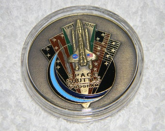 Nasa  Space Shuttle Program Medallion
