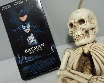 Batman Returns Tim Burton Vintage Action Movie VHS Cassette Tape