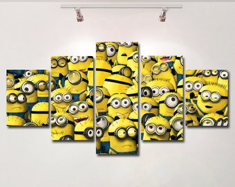Minion Wall Art Etsy