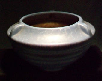 Vintage Blue Rumrill Pottery Vase #304