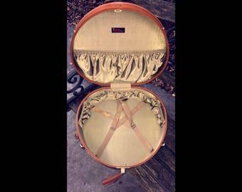 Vintage Samsonite Royal Traveler Hat Box Train Case