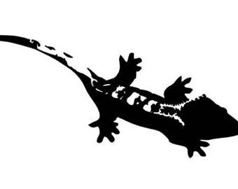 Crested Gecko Decal