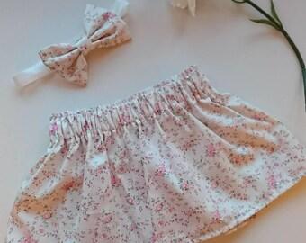 Handmade baby skirt
