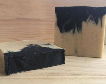 Activated Charcoal & Goat Milk Soap