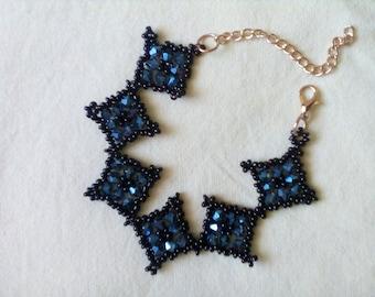 Romanian Handmade Bracelet - Royal Wedding color