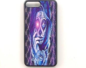 Phone case Iphone 7 + plastic hard black