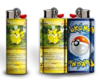 Pikachu Pokemon Card Lighter