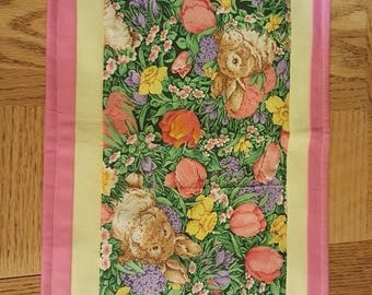 Easter and Spring Table Decor, table runner, centerpiece