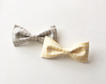 Gingham Bow Ties for Easter/Spring