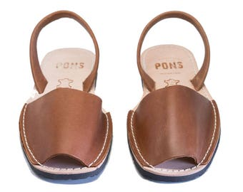 Women's brown sandals
