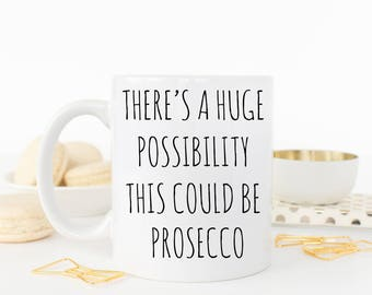 This could be Prosecco mug
