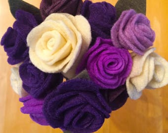Floral Felt Bouquet