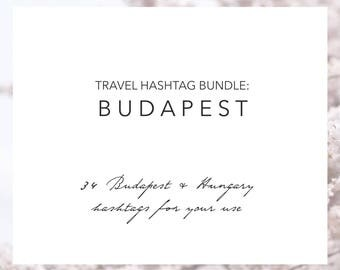 Budapest Hungary Hashtags | Instagram Travel Hashtags | Instagram Marketing | Travel Blogger | Hashtag Research | Grow Your Instagram