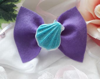 "Hairclip / hair bow ""Mermaid"""