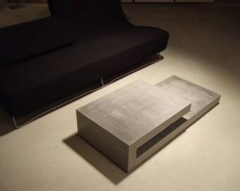 T9 concretable coffee table concrete