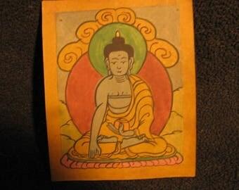 Buddha Tantric Tsakli Ritual Card (06)