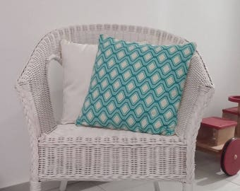 Cushion cover piped 40 x 40 cm
