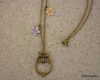"""Necklace """"OWL"""""""