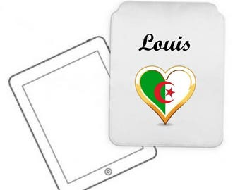 Cover for tablet pc Algeria personalized with name