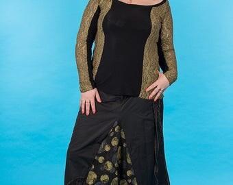 original fiber blend skirt