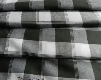 Fancy grey/white gingham style fabric