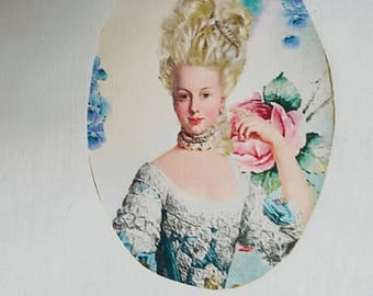 Transfer 0025 Lady style Marie Antoinette
