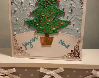 Hand made Christmas card