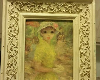 1900s Windsor Art Styled by Illinois Moulding Company Elise & Mimi