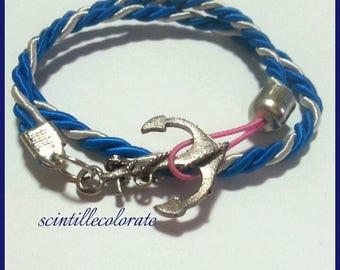 Even silver double bracelet