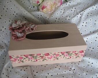 Free shipping! shabby style tissue box