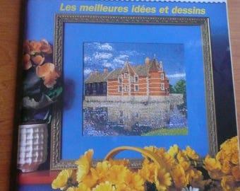french crosstitching magazine n. 8 ( 1999) as new