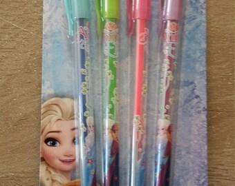 Pens X 4 snow Queen