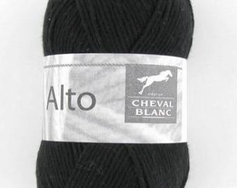 100% cotton crochet yarn wool knitting Viola color black N white N horse 012 140 ° °