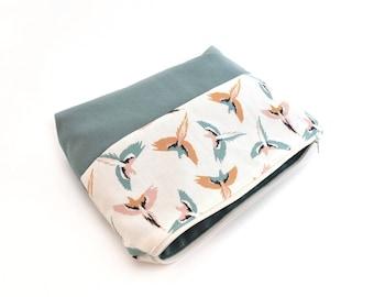 Kit cotton Parrot pattern