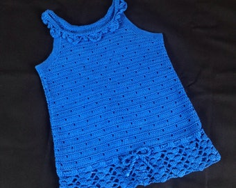 Girl crochet tank top
