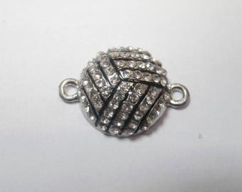 1 ball rhinestone connector