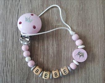 Princess pink pacifier