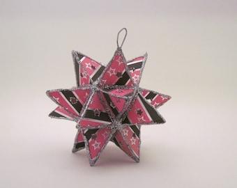 Pink / Black Star