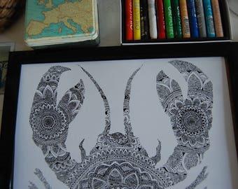 Lobster Mandala