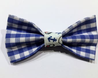 Bow tie for cat - gingham
