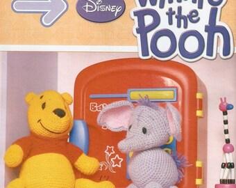 Sale!!!! Winnie The Pooh Crochet Pattern ,amigurumi  ,Disney Crochet ,Winnie The Pooh and her friends :L060/ PDF/Instant Download