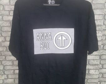 Anna sui big logo shirt
