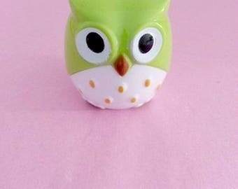 Green OWL Pencil Sharpener