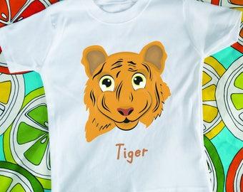 Tiger T-shirt and Bag