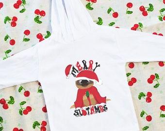 Merry Slothmas Hoodie
