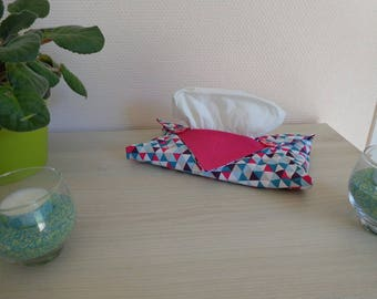 Cover tissue origami - triangle pattern