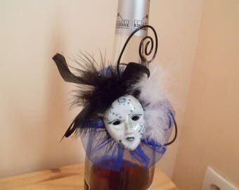 decor bottle for Carnival mask