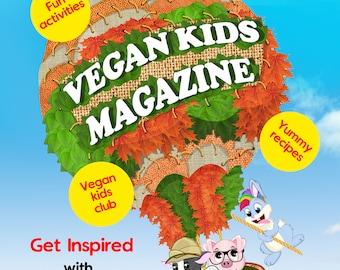 Physical copy of Vegan Kids Magazine