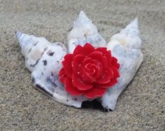 """Small Clip """"Beach Flower"""""""