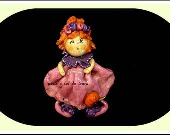 a doll in salt dough